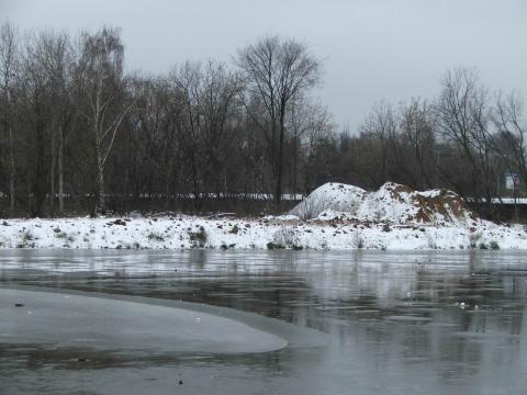 Лед на Яузе